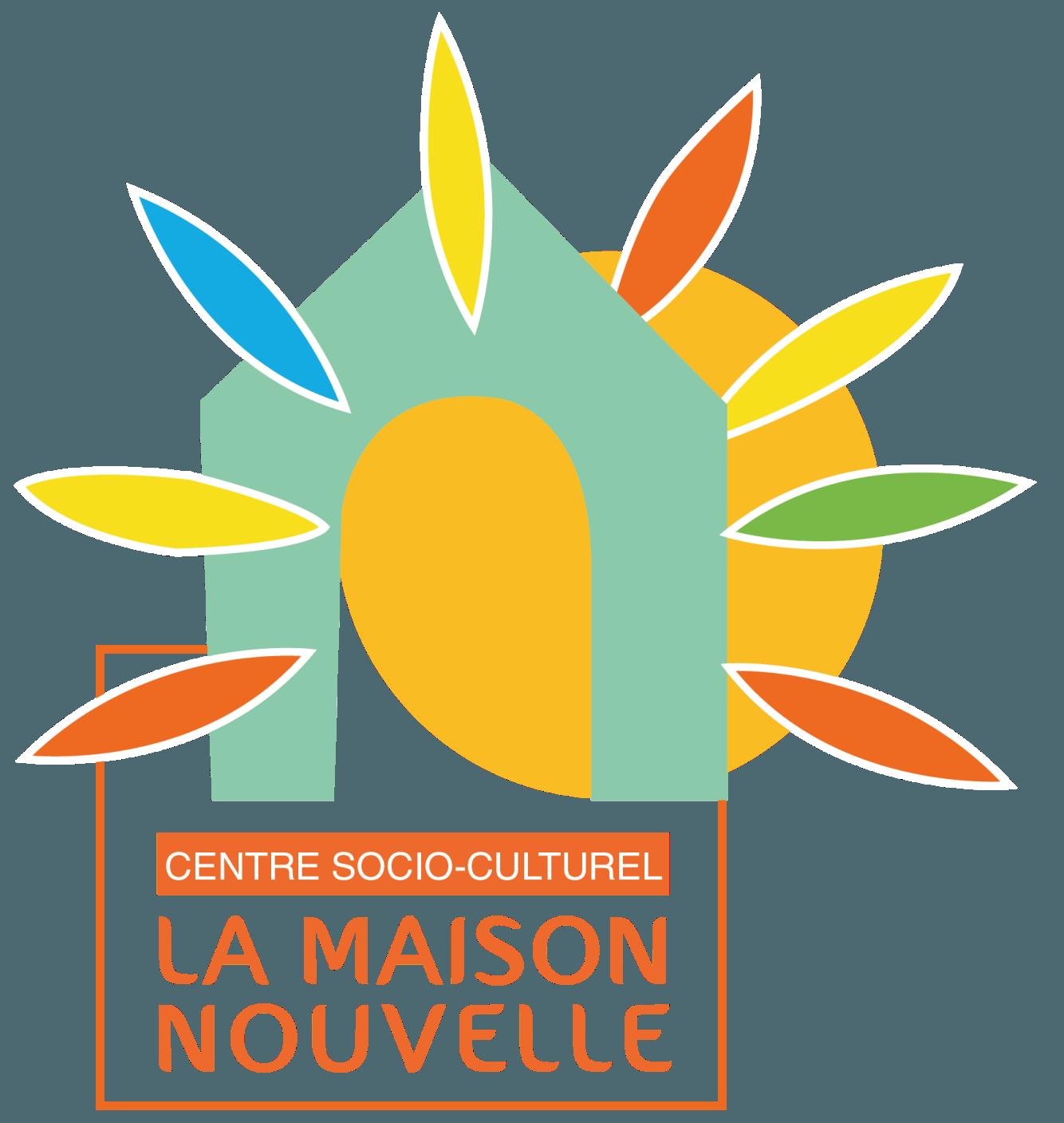 Logo centre socio-culturel La Maison Nouvelle